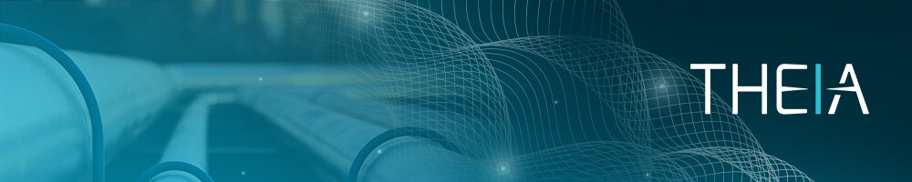 THEIA Pipeline Integrity Management Solution Header image with the software logo